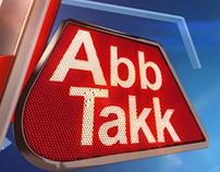 ABB TAKK NEWS (Broadcast Design 2016)