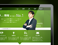 Seed Net Homepage Design