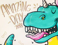 Sketch contest at Amazing Day
