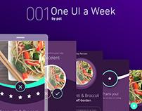 001 One Ui a Week / MyRecipes