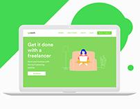 Upwork   Landing Page Redesign Concept