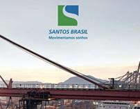 Santos Brasil :: Folder de serviços inglês/português