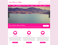 Mockup Design for a Feminist Website with WIX