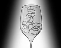 """By The Glass Pictures"" Hand-drawn Logo Animation"