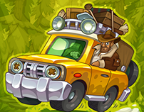 "John Hunter - ""Treasure Hunters"" game character"