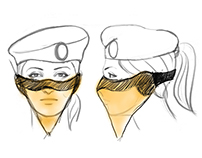 Mask it - An aid for traffic police personnel.
