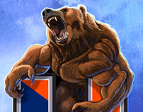 Union High School Bears Premium Poster