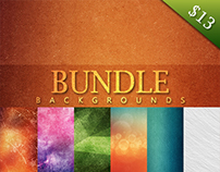 90 Grunge Backgrounds Bundle - $13 - Sale 40%