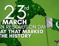 23 March Resolution day Website banners For Fasilite.pk