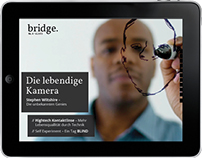 bridge – ipad Magazin Thema Inclusion