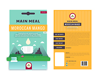 Packaging Design Concept for Camping Food