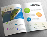 Invest in Azores Website and Brochure Redesign