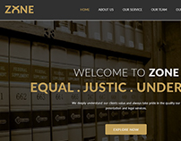 ZONE II Law Firm Web Template
