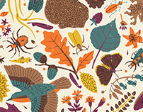 Woodland habitat pattern