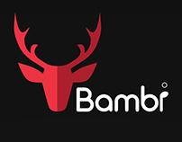 bambi mobile app design