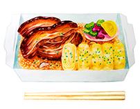 Japanese Food Illustrations