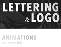 Lettering and Logo animations. Collection 2017
