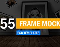 55+ Frame Mockup Templates