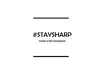 AD | SHARP X PIET MONDRIAN
