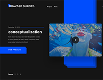 Visual Design Portfolio - DRAVASP SHROFF 2019