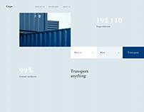Transportation company website