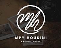 MPY HOUDINI Monogram Logo Process