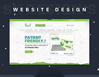 "Pharma5 ""Medicine Manufacturing Company Website Design"