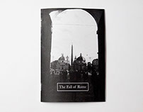 The Fall of Rome | Photography Zine