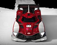 Kia LMP1 concept (old modeling)