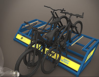Bicycle rack design
