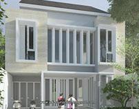 Design & Build Rumah Kost di Ubi V Surabaya