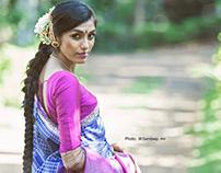 Campaign shoot for Aikyatha Sarees