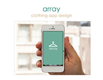 Clothing App Design