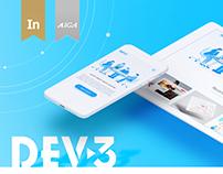 DEV-3. Web Development Agency Website redesign