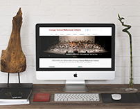 GNPO - Local Orchestra Responsive Wordpress Website