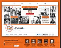 Social Media Cover Banner ( GYM & Fitness )