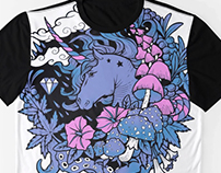 - Print - Magical Unicorn -