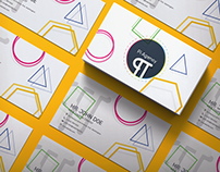 Business Card Proposal for PiAgency