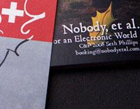 Nobody, Et Al Album Art