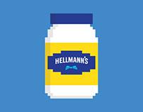 Hellmann's Egg Drop Game
