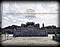UNESCO's cultural heritage bai dinh temple