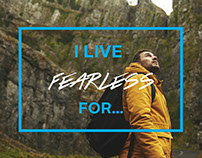Live Fearless Advertisement
