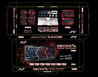 #PACKAGING DRAFT CONCEPT DESIGN - Gaming keyboard