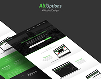 Alt-Options Website Design