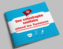 infographie: Catastrophe sanitaire Tunisie