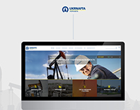 UKRNAFTA - website for oil and gas corporation