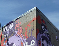 Two walls for Mural Festival