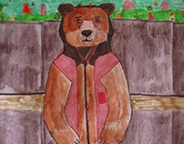 Phil the Werebear in the fall