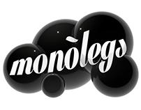"""Cartel """"Monòlegs"""""""