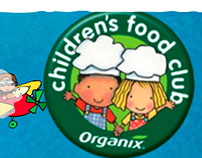 Organix Childrens Food Club - Flash Interactive Website